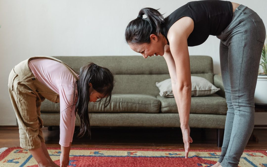How to Exercise With Kids Around All The Time